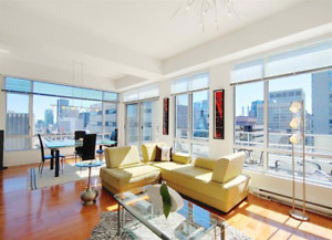 ** Downtown ** Spectacular Penthouse - 2Bed/2bath + Parking **