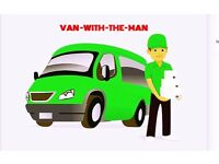 ANY VAN & MAN HOUSE OFFICE REMOVAL PIANO MOVERS/ MOVING LUTON DELIVERY COLLECTION RUBBISH CLEARANCE