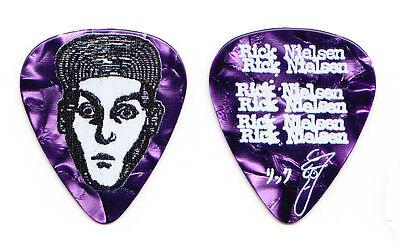 Cheap Trick Rick Nielsen Signature Purple Pearl Guitar Pick - 2015 Tour