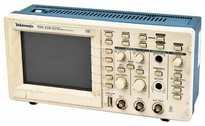 Tektronix Tds210 60mhz Dual-channel Digital Real-time Oscilloscope Unit