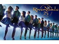 2 tickets for the 2pm showing of river dance at the mayflower, Southampton