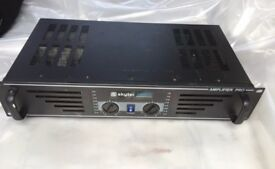 Skytec Pro-600 Amplifier 600W. One side does not work