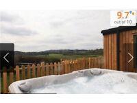 Log Cabin - Hot tub and BBQ