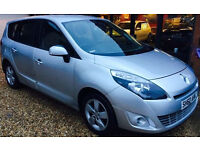 Renault GRD SCENIC DY-IQUE T-T DC GUARANTEED FINANCE payment between £40-£80PW