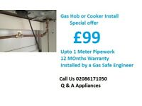 Gas Cooker Fitting & Installation - Gas - Hobs - London all areas