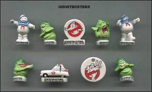 AMAZING-MINIATURE-GHOSTBUSTERS-FIGURINE-SET-STAY-PUFT-MARSHMALLOW-MAN-RARE