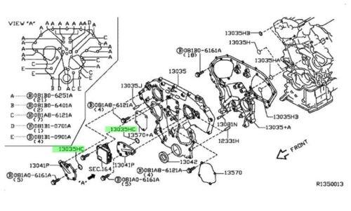 NISSAN OEM 91-94 Sentra Engine Lid Gasket ORING 150665E510 | eBay