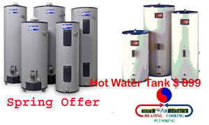 Hot Water Tank only $899