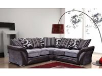Fast Delivery-Brand new Shannon Right or left hand corner sofa and 3+2 Seater sofa-Cash on delivery