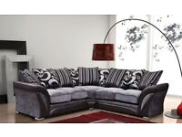 50% off BRAND NEW dfs sofs shannon corners or 3+2 or cuddle chair FREE STORAGE POUFFE