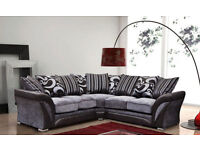Brand New Luxury Shannon Corner Sofa Set-Left Arm-Right Arm-3+2 Also Available