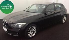 ONLY £189.12 PER MONTH 2013 BMW 116D 1.6 EFFICIENTDYNAMICS 5 DR DIESEL MANUAL