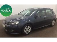 £134.66 PER MONTH - 2011 GOLF 1.6 TDI 105 BLUEMOTION HATCHBACK DIESEL MANUAL
