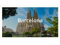 LONDON to BARCELONA return flight just £47