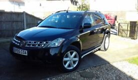 Automatic Nissan Murano, 3.5 V6 Engine, Petrol, 4x4 Crossover