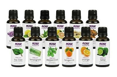 NOW Foods Essential Oils & Blend Oils Aromatherapy 1 fl oz - CHOOSE SCENT