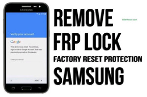 FRP/Google account removal for cheap