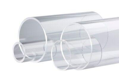 Ge Fused Quartz Glass Tube For Furnace 159x166mm 72 Long