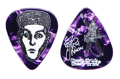 Cheap Trick Rick Nielsen Signature Purple Pearl Guitar Pick #2 - 2015 Tour