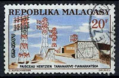 Malagasy Rep. 1962 SG#52, 20f Aerials Used #E83469