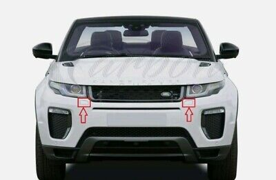 Genuine Range Rover Evoque LH and RH Washers Jets Covers Set Bumper