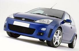 Ford Focus LOWEST MILEAGE RS collectors / investment, 9 SERVICES