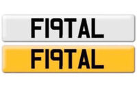 F19TAL - Fatal , Merc , BMW , Dangerous , Lethal , Toyota , G63 , C63 , number plate