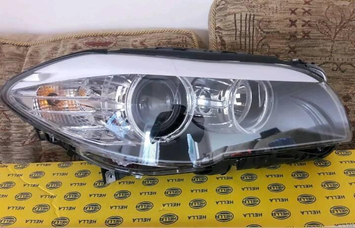 New BMW 5 Series F10 F11 Headlight Halogen Driver Off Side Includes Bulbs
