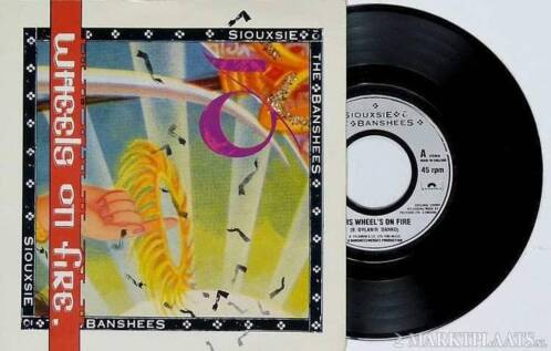 "SIOUXSIE and BANSHEES - This Wheel's On Fire - 7"" 1987 nieuw"