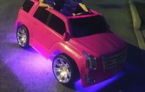Power wheels pink Cadillac LED Lights