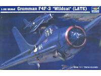 Trumpeter 02255-1:32 Grumman F4F Neu Early 3 /'/'Wildcat/'/'