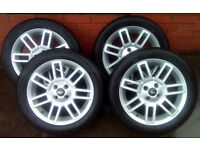 Mini Alloys and tyres, 16 inch