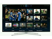 "Samsung 55"" LED smart wi-fi TV builtin freeview fullhd 1080p tv comes with warranty"