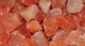 Himalayan Salt chunks red and white £2/kg