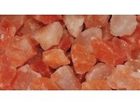 Himalayan Salt chunks red and white £2/kg