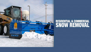 Residential commercial snow removal