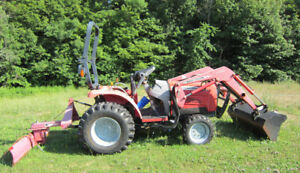 **MASSEY-FERGUSON 1529~2008 >> With Backet ETC*ONLY 349  Hours!!