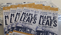 Leafs Blue Line Golds 4-Game Pack
