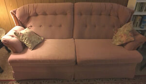 Set of Sofa-bed + Two Armchairs