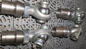"""4 - 3/4"""" ROD ENDS WITH TUBE ADAPTERS & HIGH MISALIGNMENT SPACERS Belleville Belleville Area image 2"""