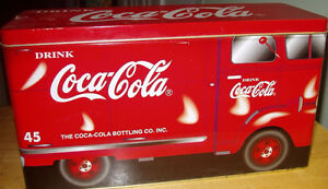 LARGE Coca-Cola Delivery Truck Tin