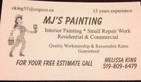 MJ'S PAINTING