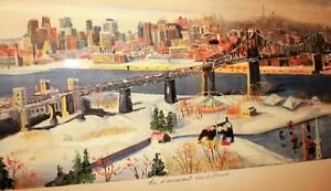 Lithograph by Jean Paul Langlois Signed by the Artist!!!!! West Island Greater Montréal image 6