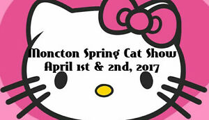 Spring Cat Show-Have some fun enter your Kitty in a cat show!!!