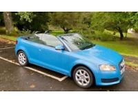 2009 Audi A3 TFSI CONVERTIBLE 6 SPEED 1OWNER SINCE 2013 STUNNING COLOUR GREAT VA