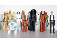 **WANTED** Vintage star wars old figures and vehicles