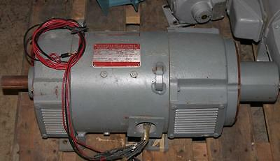 Ge Kinamatic Direct Current Generator Dc 250v 4.5kw 1750rpm Cd218aty Motor