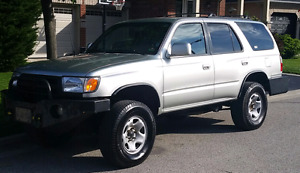 1999 TOYOTA 4RUNNER SR5 4WD V6 with CUSTOM FRONT & REAR BUMPERS