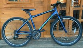 """Carrera Axle Mountain Hybrid Bike. 18"""" Frame. 27.5"""" Wheels. Fully Work"""