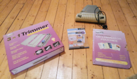 Laminator, Pouches and Paper Trimmer Combo